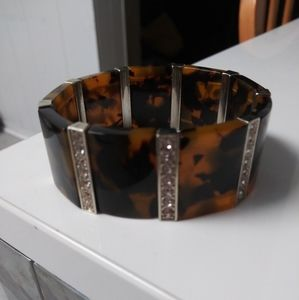 "Tortoise Stretch Bracelet Size 8 1/2"""